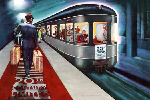 The 20th Century Limited passenger train