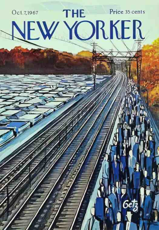 Arthur Getz The New Yorker cover October 7, 1967