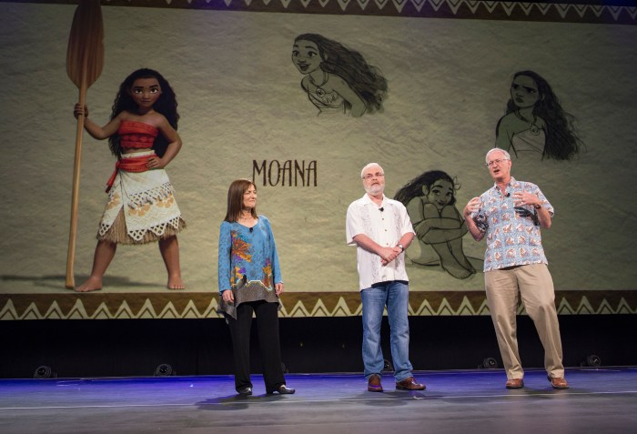 Moana at d23expo