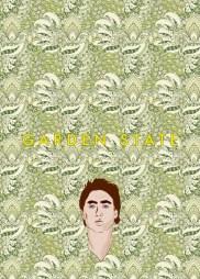 Garden State Minimalist Poster