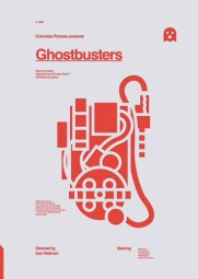 Ghostbusters Minimalist Poster