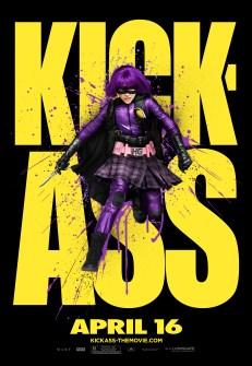 Kick-Ass Outdoor Art Posters - Hit Girl