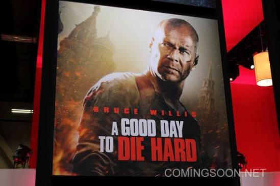 A Good Day to Die Hard - Licensing Expo poster
