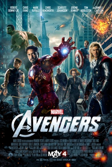 Avengers Theatrical Poster Hi-Res
