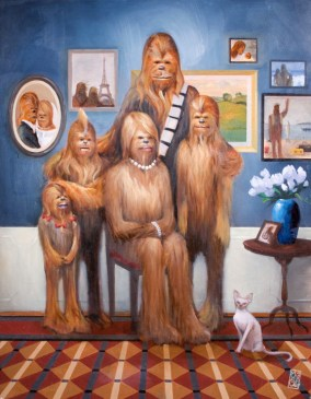Acme - Wookiee Family Portrait by Maya Gohill