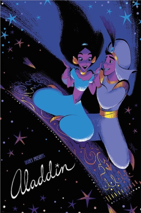 Aladdin by Brittney Lee