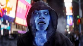 Amazing Spider-Man 2 Electro face