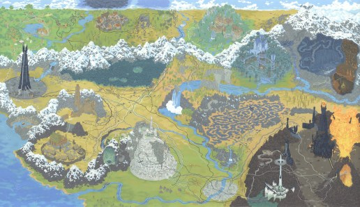 Andrew DeGraff - Lord of the Rings HR