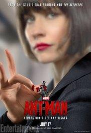 Ant-Man character posters - Evangeline Lilly as Hope Van Dyne