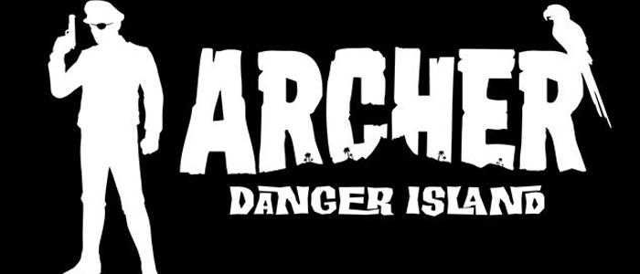 Archer Danger Island logo