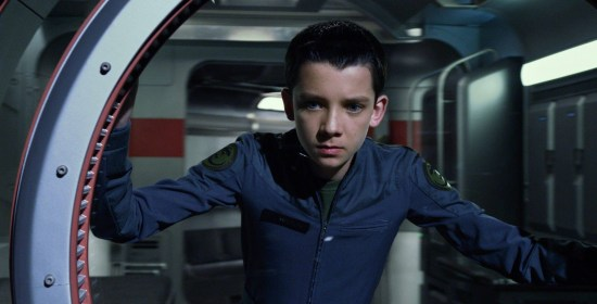 Asa Butterfield in Ender's Game