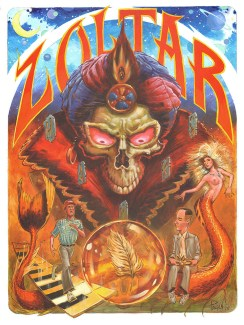 "Augie Pagan ""Zoltar the All Controlling"""