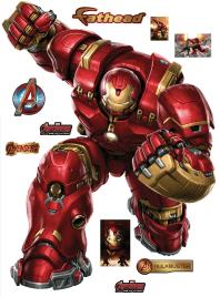 Avengers Age Of Ultron Hulkbuster Fathead