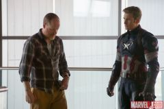 Avengers Age of Ultron - Joss Whedon and Chris Evans