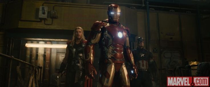 Avengers Age of Ultron - Thor, Iron Man, Captain America