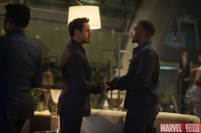 Avengers Age of Ultron - Tony Stark and Sam Wilson