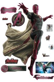 Avengers Age of Ultron Vision Fathead