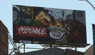 Axis - Avengers Billboard