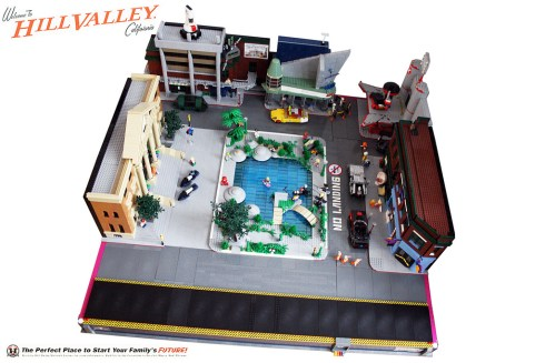 Back to the Future II Lego 1