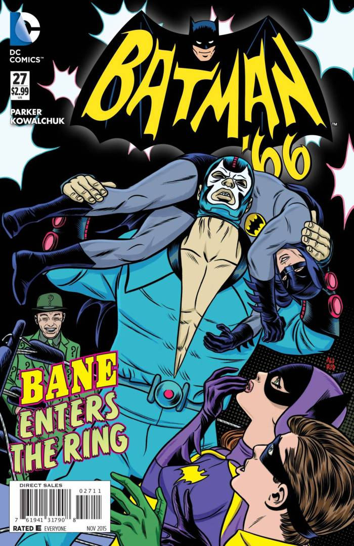 Batman 66 Bane luchador