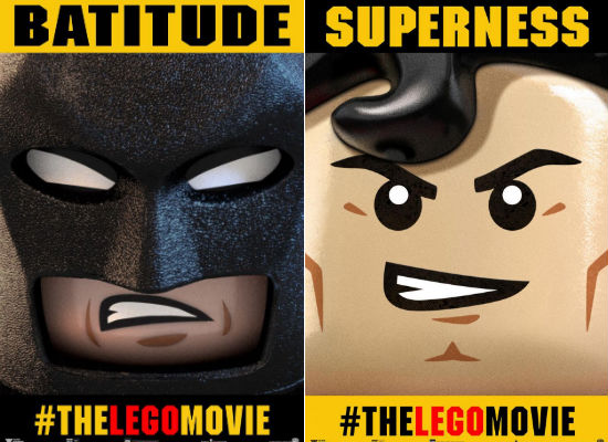 Batman Superman Lego Movie Poster