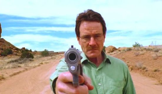 Breaking Bad Pilot Bryan Cranston