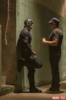 Captain America Civil War - Chris Evans and Anthony Russo BTS