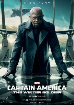 Captain America Winter Soldier Nick Fury poster