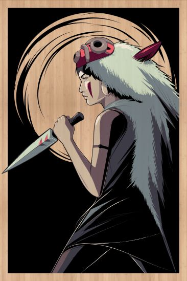 Craig Drake Princess Mononoke-bamboo
