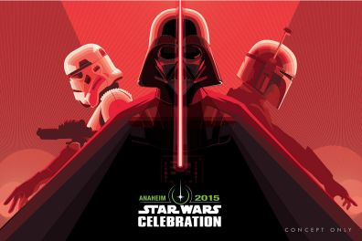 Craig Drake Star Wars Celebration Concept 1