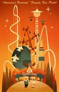 Dave Pryor - Walley World - Fake Theme Parks
