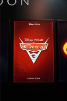 Cars 3 poster at D23 Expo 2015
