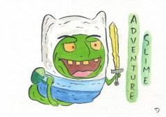 Dan Goodsell - Ghostbusters adventure slime