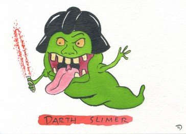 Dan Goodsell - Ghostbusters darthslimer