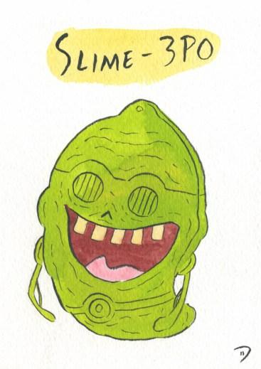 Dan Goodsell - Ghostbusters slime3po