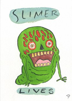Dan Goodsell - Ghostbusters slimer lives