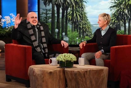Despicable Me 2 - Steve Carell as Gru on Ellen