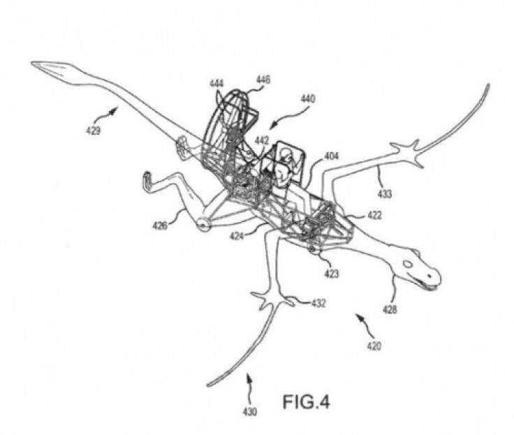 Disney Dragon Patent