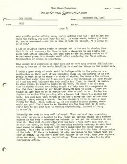Walt Disney Letter 7