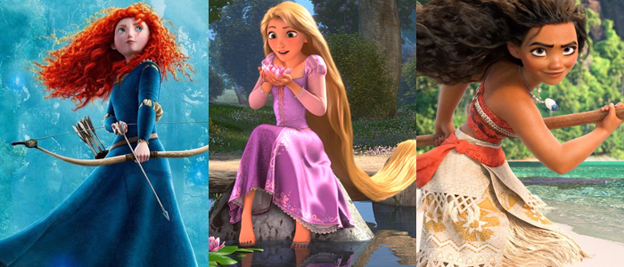 Disney Princess movies in theaters