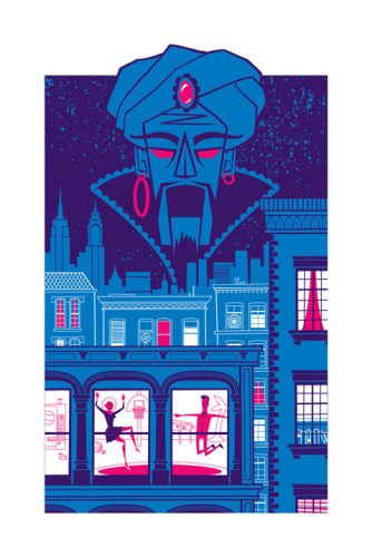 "Doug LaRocca ""Zoltar Watches Over All"" Print"