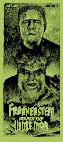 Elvisdead - Frankenstein Wolf Man variant