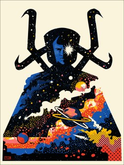 """Eternity by We Buy Your Kids 18"""" x 24"""" screen print. Edition of 100."""
