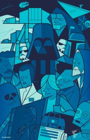 Star Wars Episode V The Empire Strikes Back by Ale Giorgini