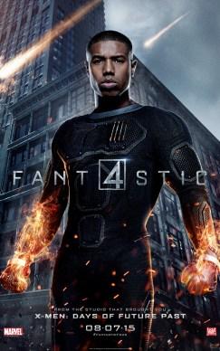 Fantastic Four Johnny Poster