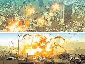 Fantastic Four Punisher Panel 4-5