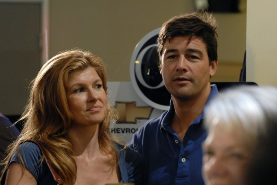 Friday Night Lights - Tami (Connie Britton) and Eric (Kyle Chandler)