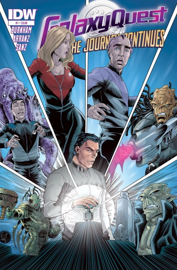 Galaxy Quest cover 1