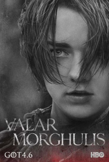Game of Thrones Season 4 - Maisie Williams as Arya Stark