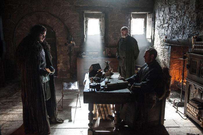 Game of Thrones Season 5 - Jon, Davos, and Stannis